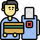 Payment Declined Credit Debit Icon