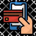 Credit Debit Online Icon