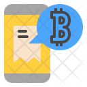 Payment in Bitcoin Icon