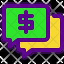 Chat Money Icon