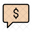 Payment Message Dollar Money Icon