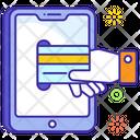 Mobile Transaction Mobile Banking Ebanking Icon
