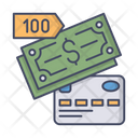 Payment Method Credit Card Money Icon