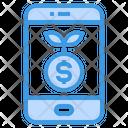 Smartphone Money Payment Method Icon