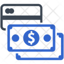Cash Payment Credit Card Icon