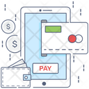 Mobile Payment Mobile Pay Digital Payment Icon