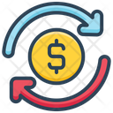 E Commerce Dollar Sync Icon