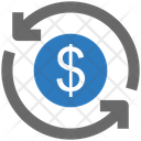 Seo Currency Exchange Icon