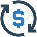 Business Financial Sync Icon