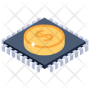 Payment Processor Payment Chip Dollar Chipset Icon