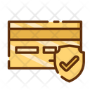 Secure Protection Safe Payment Credit Card Icon