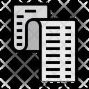 Payment Receipt List Paper Icon