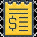 E Commerce Receipt Payment Icon