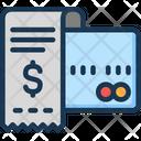 Credit Card Invoice Money Icon