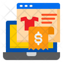 Reciept Ecommerce Shopping Icon