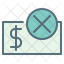 Payment rejected Icon