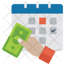 Payment Schedule Payment Deadline Tax Payment Icon