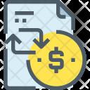 Document Payment Slip Icon