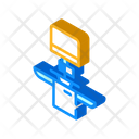Payment Terminal Isometric Icon