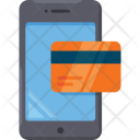 Payment through Mobile Icon