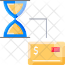 Moneym Payment Time Credit Card Icon