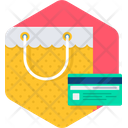 Shopping Credit Card Cart Icon