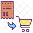 Payments Bills Shopping Invoice Shopping Bill Icon