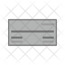 Payorder Money Cheque Icon