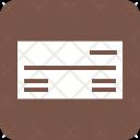 Payorder Money Cheque Icon