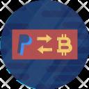 Paypal Exchange Convert Icon