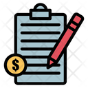 Payroll Accounting Banking Model Icon