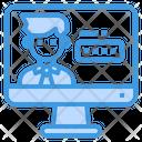 Pc Computer Password Icon