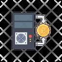 Pc Computer Bitcoin Icon