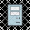 Pc Cpu Unit Icon