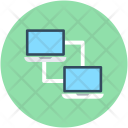 Pc Share Data Icon