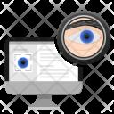 Pc Monitor Data Icon