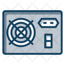 Pc Power Supply Hardware Power Unit Icon