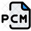 Pcm File Audio File Audio Format Icon