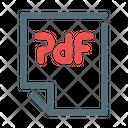 Pdf Acrobat Format Icon