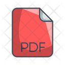 Pdf Document File Icon