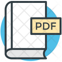 Pdf Book Format Icon