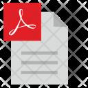 Pdf Acrobat File Icon