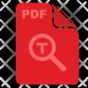 Pdf Acrobat Find Icon