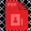 Pdf Address Dictionary Icon