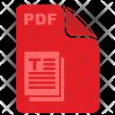 Pdf Article File Icon