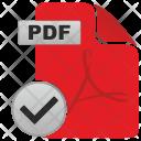 Pdf, Complete Icon
