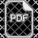 Pdf Documentation File Icon