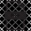 Pdf Extension Icon