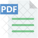 Pdf File Extension Icon
