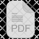 Pdf Acrobat Text Icon